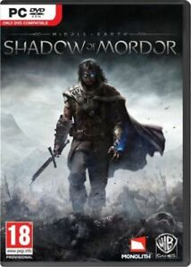 Middle Earth Shadow of Mordor  An Epic Tale of Revenge and Redemption for PC NEW