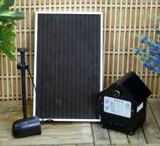 Garden Sun 3 Watt Solar Panel with Water Pump Kit with Battery LED Light Pool