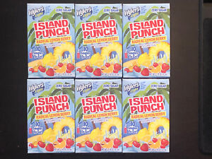 Wylers Light Island Punch RADICAL LEMON BERRY (6 Boxes) Singles To-Go Drink Mix