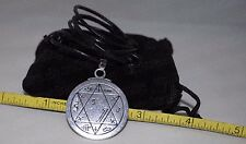Seal of Eloquence King Solomon Talisman Pendant Charm Necklace