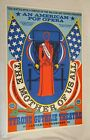 Vtg THE MOTHER OF US ALL An American Pop Opera ROBERT INDIANA Poster 1967