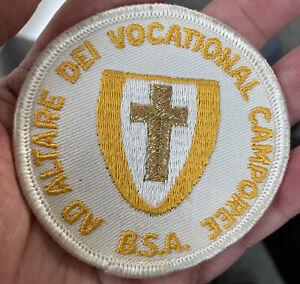 BSA Scouts Ad Altare Dei Vocational Catholic Camporee Patch