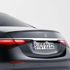Mercedes-Benz OEM Rear Spoiler S Class Sedan W223 2021+ Primed Brand New