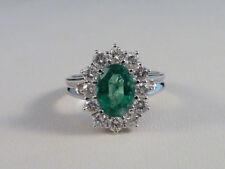 Unbehandelte Echtschmuck-Ringe mit Smaragd für Damen