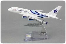 Solid Malaysia Airlines AIRBUS A380 Passenger Airplane Plane Metal Diecast Model