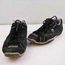 Mens 7 Piloti Prototipo tennis shoe black suede
