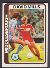Topps - Footballers (Blue Back) 1979 - # 115 David Mills - Middlesbrough