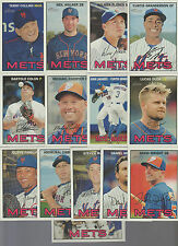 2016 NEW YORK METS 40 Card Lot w/ TOPPS HERITAGE TEAM SET 26 CURRENT Players