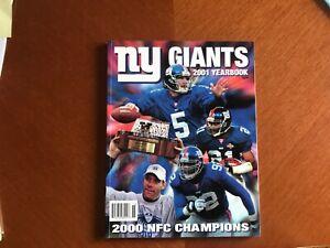 NY Giants 2001 Yearbook