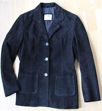 GIPSY Wildlederjacke Blazer schwarz Gr M / kaum getragen