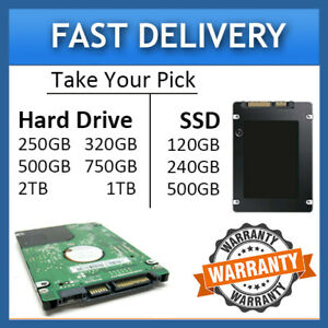 Toshiba Satellite L750-1E8 L750-1XJ L750D-BT5N11 Laptop 2.5 Hard Drive/SSD Drive