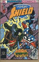 Legend of the Shield 1991 series # 4 very fine comic book