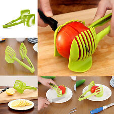 1Pcs Lemon Tomato Potato Fruit Slicer Peel Multifunction Egg Food Clip Clever