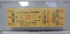 Los Angeles Dodgers Vs Houston Colt 45's July 22, 1964 Full Ticket Sandy Koufax