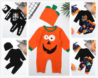 Infant Baby Boys Romper Halloween Party Costume Outfits Birthday Jumpsuits Suits