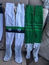 Umbro Northern Ireland Home & Away Football Socks Size 10-13 In Great Condition