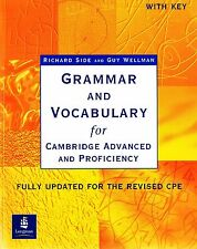 GRAMMAR AND VOCABULARY for Cambridge Advanced & Proficiency CAE & CPE w Key @NEW