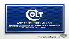 Colt Counter Mat Python Blue & White