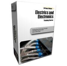 ELECTRICS ELECTRICAL kit strumenti elettricisti Guide Corso di formazione PC CD