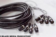 prof. 4 Kanal XLR AES/EBU Multicore-Kabel 15m HiCon 110 Ohm - DMX geeignet *NEU*