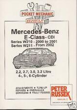 Mercedes Benz E-Class CDI '00 on W210 / W211 book