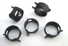 """Hose Clamps Fuel Vacuum Lines 3/4"""" OD Hose Spring Action Clamps"""
