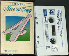 COUNTRY NICE 'N' EASY CASSETTE 4 RDC91584 PARTON GAYLE CASH SPEARS COOLIDGE