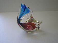 VINTAGE MURANO VENETIAN ITALIAN ART GLASS FISH / ITALY