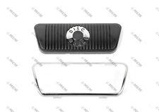 68 69 70 71 72 73 Ford Mustang Brake Pedal Pad w/ Trim, (Disc Brake, Automatic)