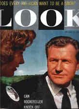 LOOK magazine 1959 ROCKEFELLER-Casey Stengel-BUDWEISER
