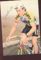 RUDY VERDONCK LOTTO OPEL cp Signée cyclisme ciclismo Autographe Cycling team