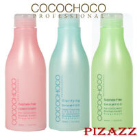 COCOCHOCO Sulphate-Sulfate Free Shampoo and Clarifying Shampoo, New