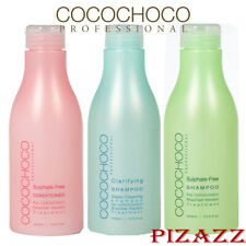 COCOCHOCO Sulphate-Sulfate Free Shampoo and Clarifying Shampoo, New