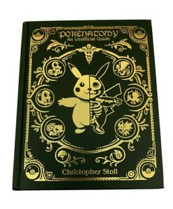 Pokenatomy Unofficial Pokemon Anatomy Book Leather Limited Edition - IN HAND!
