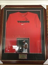 Rafael Nadal (Rafa) Signed Nike Tennis Shirt Framed with COA