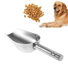 Pet Dog Cat Stainless Steel Food Scoop Spoon Shovel Scooper Puppy Feeding Tools