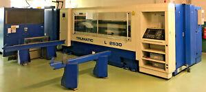 Trumpf Trumatic L2530 Laserschneidmaschine CNC Laser TLF 2400 Turbo