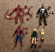 HASBRO Marvel Legends Spiderman Carnage Venom Gwen Stacy CUSTOM Vintage Retro