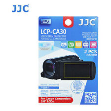 JJC LCP-CA30 ultra hard polycarbonate LCD Screen Protector Canon Camcorder 3 inc