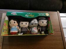 Hallmark Itty Bittys Wizard of Oz Collectors Set of 4 Spec Ed - 2-Sided - Nib