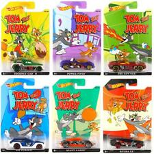 Hot Wheels Tom /& Jerry Complete Set 6//6 Pop Culture Hanna Barbera Tom and Jerry.