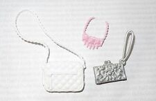 PURSE LOT (PL34) ~ FASHIONISTA BARBIE DOLL PURSE NECKLACE ACCESSORY ACCESSORIES