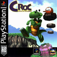 Croc: Legend Of The Gobbos For PlayStation 1 PS1 4E