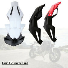 """Motorcycle Cross-country Front Fender Pit Mud Guard Widen Dirt Bike For 17"""" Tire"""