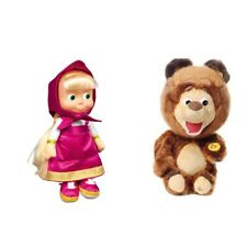 Mascha 22cm und Bär 29cm aus Mascha und der Bär masha i medved and the bear