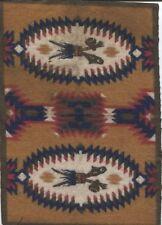 Vintage Tobacco Felt Native American Design Clubs