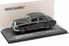 Mercedes-Benz 180 (W120) Baujahr 1955 schwarz 1:43 Minichamps