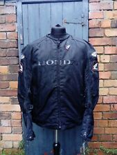 Men's Joe Rocket Honda Textile Motorcycle Coat Jacket - Black - Size XL