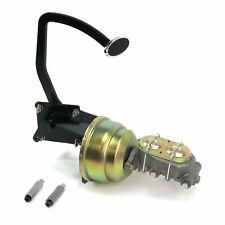 41-48 Ford 8 Dual Brake Pedal kit Drum/DrumSm Oval Chr Pad