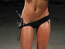 ART PRINT POSTER PHOTO HUMAN BODY SEXY GIRL GUN PISTOL REVOLVER LFMP1188